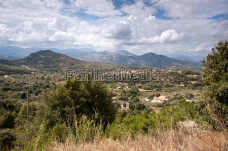 supramonte mountains