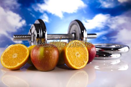 healthy lifestyle concept fruit