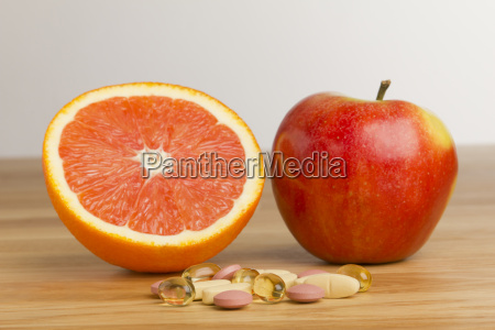 dietary supplements vsorange and apple