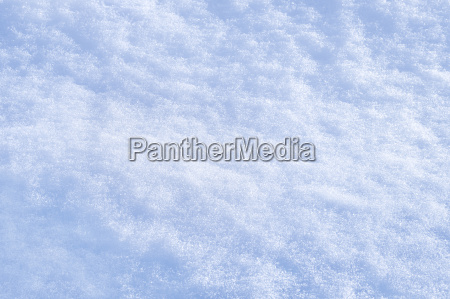detail of snow texture with shadows