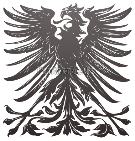 imperial eagle design element