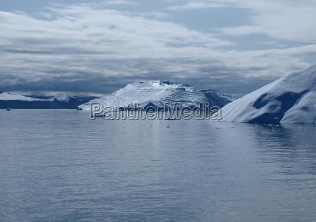 iceberg greenland west coast in summer