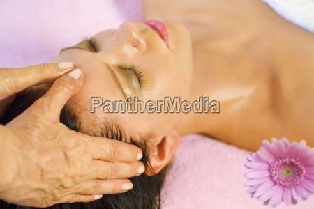 wellness and head massage
