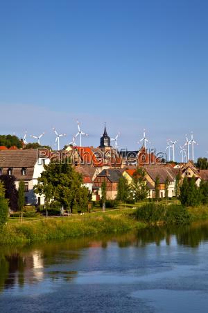 city u200bu200band windmill