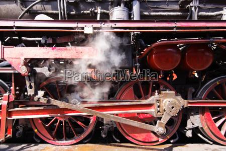 steam locomotive wheels