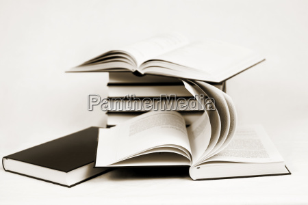 composition of bw books toned to
