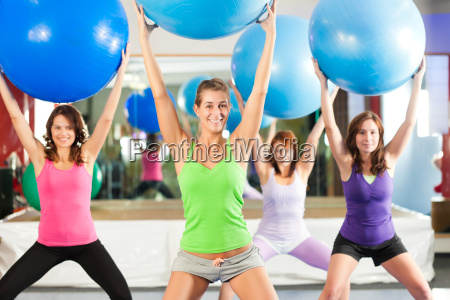 fitness training and workout in the
