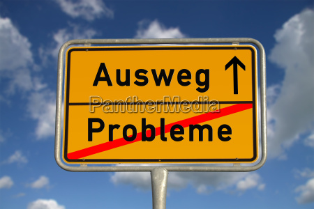 german sign problems way out