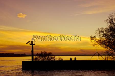 sunset wedel