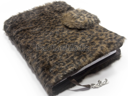 calendar binding synthetic fur