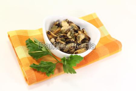 seafood parsley culinary herbs marinated lemon