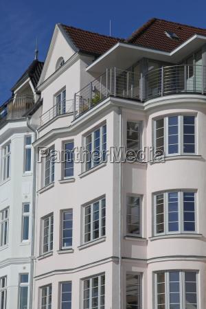 multi family house in art nouveau