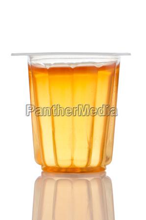 orange gelatin cup