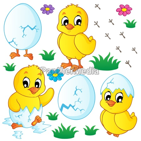 cute chickens collection