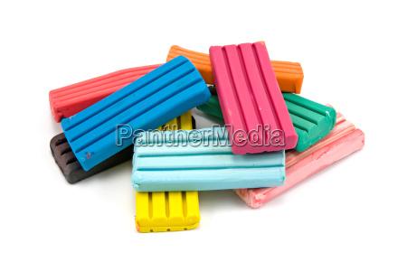 colorful children039s plasticine bricks