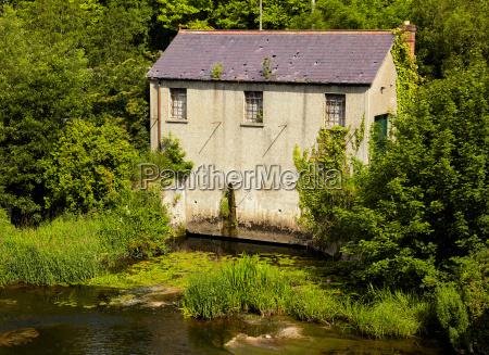mill on liffey river