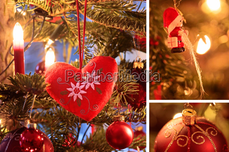 collage of christmas motifs