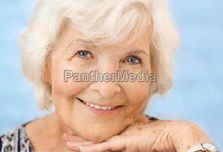 senior portrait close up