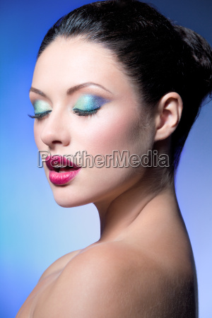 beauty closeup