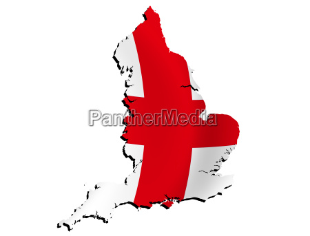 map england with flag