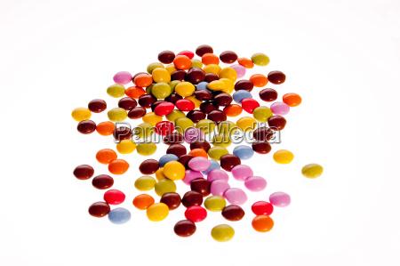 closeup fruit candy
