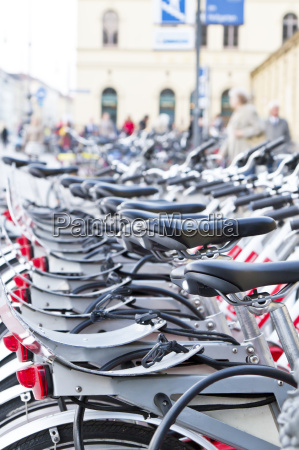 bicycle rental in munich downtown