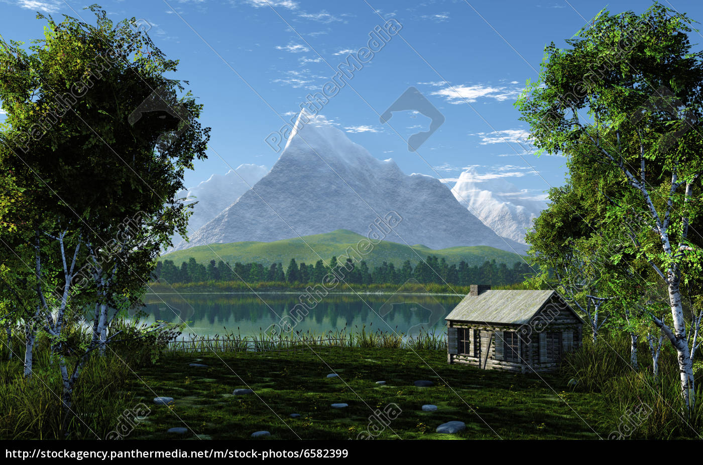idyllic, mountain, landscape - 6582399