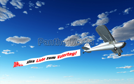 airplane banner all love for