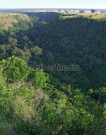 kyambura gorge in africa