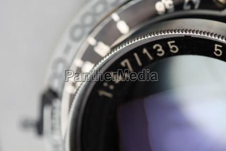 antique camera lens