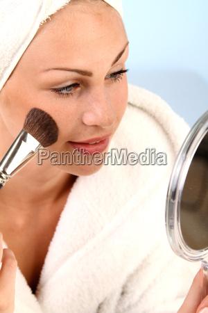 woman lipstick