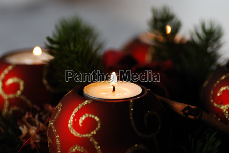 candles in advent