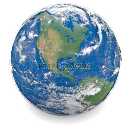 illustration of earth
