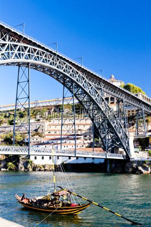 dom luis i bridge porto portugal