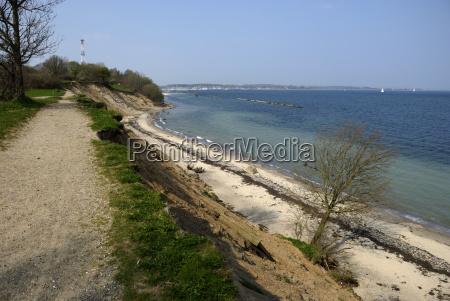 baltic coast falckenstein in kiel