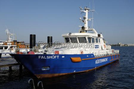 coast guard falshoeft in kiel
