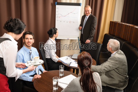 business man at team meeting discuss