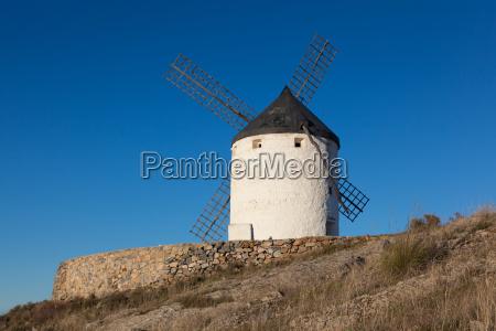 windmill in consuegra castilla la mancha