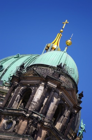 detail of the berlin cathedral