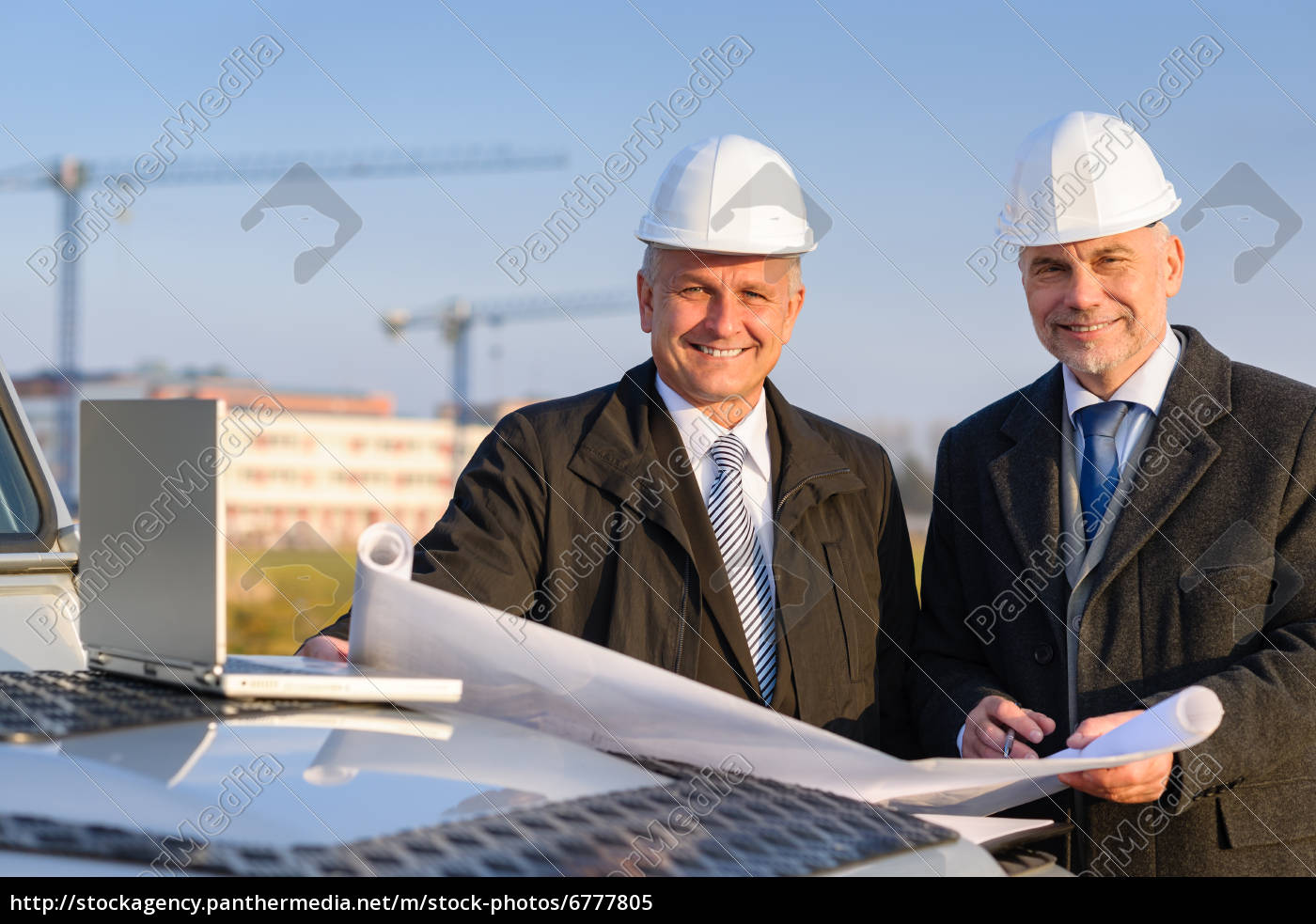 architect, developer, hold, construction, plan - 6777805