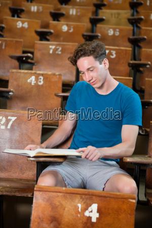 studious boy