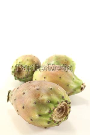 fresh cactus figs