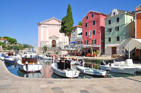 the picturesque resort of veli losinj