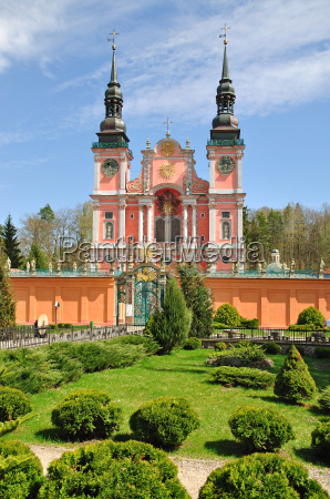 the famous sanctuary swieta lipka in