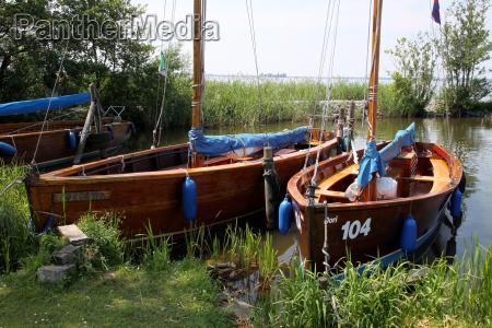 sailboats in steinhude