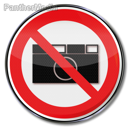 prohibition sign photography