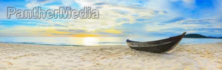 panorama sulla spiaggia