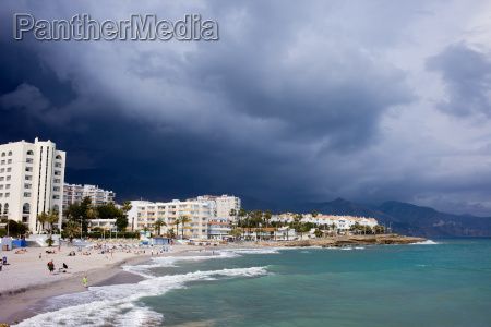 nerja beach on costa del sol