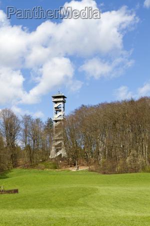 lookout tower near ebersberg near munich