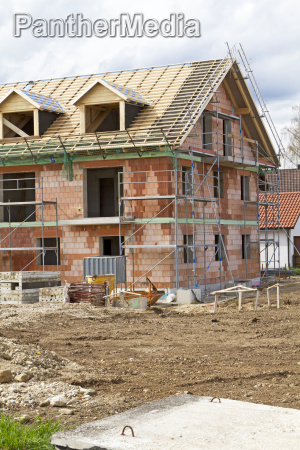 construction of an apartment building bayern